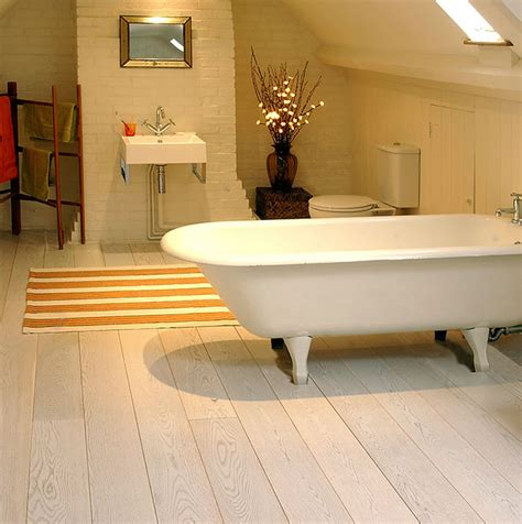 Wooden Flooring For Bathroom by Bathroom Wood Flooring Wood Floor Co