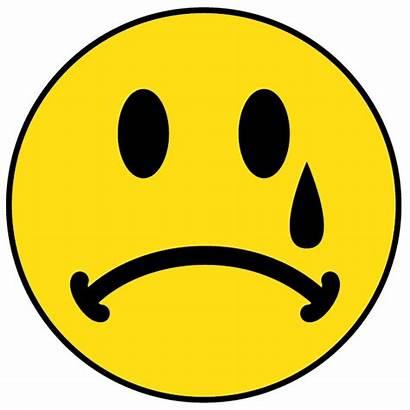 Smiley Crying Face Clipart Sad Clip Faces