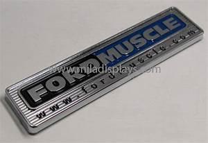 mila displays automotive nameplates automotive emblems With custom car badge lettering