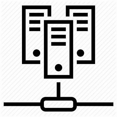 Server Icon Virtual Web Dedicated Networking Icons