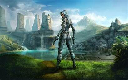 Fantasy Wallpapers Desktop Sci Fi Fiction Science