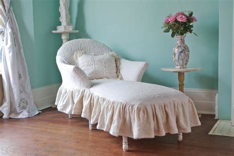 chaise cagne chic listing for shazmeen malik chaise lounge shabby chic ivory