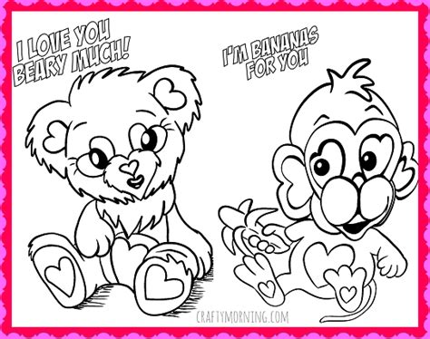 Image/grandparents Day Printable Coloring Pages/valentine S ...