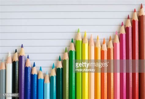 colored pencil bar graph lined paper  successful