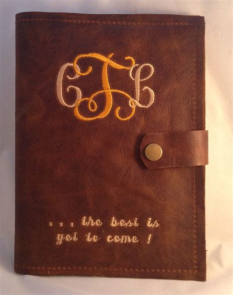 3rd anniversary gifts 3rd wedding anniversary gift for her him leather journal by leatherandlace2012 on etsy https