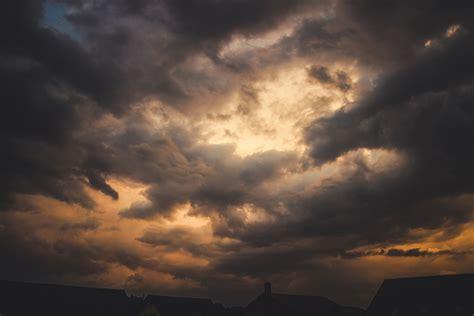 stock photo  cloudy sky dark sky rainy
