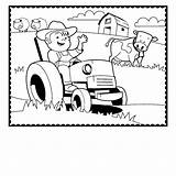 Coloring Farm Tractor Pages Animals Preschool Farmer Trailer Printable Animal Agriculture Drawing Cow Horse Crafts Getdrawings Sheets Print Getcolorings Sketchite sketch template