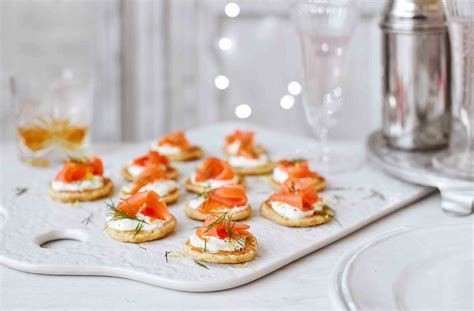 bases for canapes how to blinis canapes tesco food