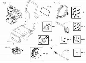 Sears Craftsman Pressure Washer 580752550 Replacement
