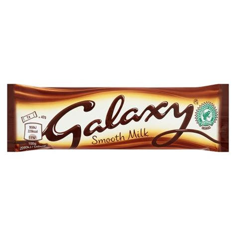 Shop Standard 25 In X Galaxy Milk Chocolate 42g Groceries Tesco Groceries