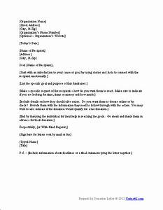 Free Request for Donation Letter Template | Sample ...