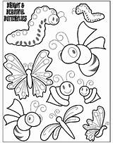 Butterflies Coloring Bright Pages Crayola Print sketch template