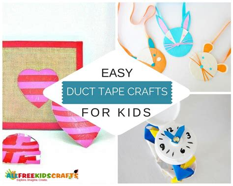 duct tape  easy duct tape crafts