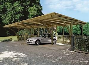 Abri Voiture En Bois : quel abri choisir pour sa voiture ~ Nature-et-papiers.com Idées de Décoration
