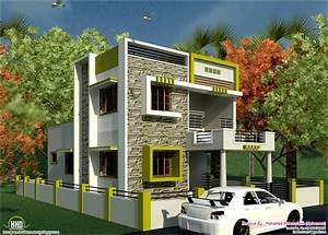 Small House With Car Park Design