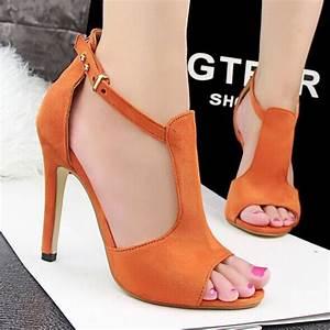 2015 New women high heels sandals fashion women sandals 6 ...