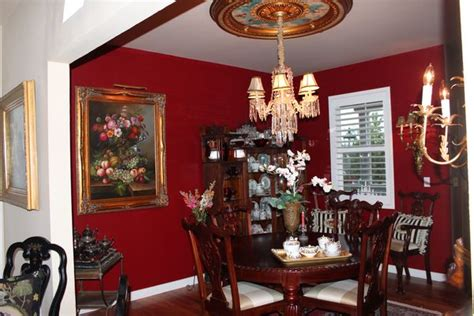 Color Me Red (dining Room Paint Project) Bluebirds