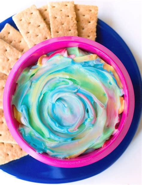 rainbow unicorn dip  recipe