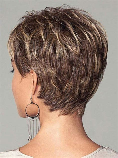 Pixie Stacked Hairstyles by Stylist Back View Pixie Haircut Hairstyle Ideas 54