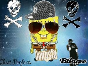 Gangsta Spongebob Picture #128930194 | Blingee.com