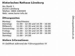 Lüneburg Verkaufsoffener Sonntag : ffnungszeiten historisches rathaus l neburg am ~ A.2002-acura-tl-radio.info Haus und Dekorationen