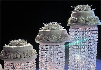 product acrylic crystal chandelier wedding cake