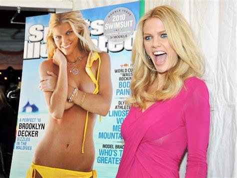 decker brooklyn illustrated sports swimsuit wife andy roddick si namesake passes test