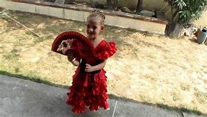 flavie en robe espagnole youtube With robe espagnol