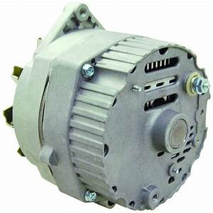 New Alternator Replaces Delco 10si Ir  Ef 3 Wire System 63 Amp W   V Drive Pulley