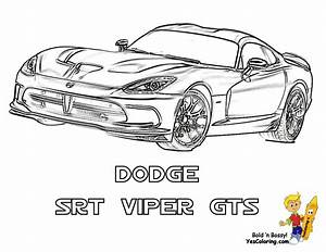 Ice Cool Car Coloring Pages | Cars | Dodge | Free | Car ...