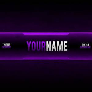 Free Youtube Banner Templates – Helmar Designs regarding
