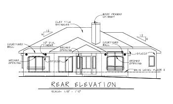 House Plan 68861 Mediterranean Style with 1970 Sq Ft 3