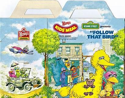 Bird Follow 1985 Wendy Meal Wendys Muppet
