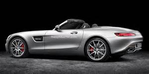 mercedes sls 65 amg price mercedes amg gt roadster rendered with retractable top