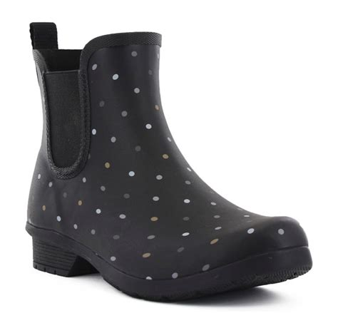 Chooka - Women's Chooka Tonal Dot Chelsea Waterproof Rain ...