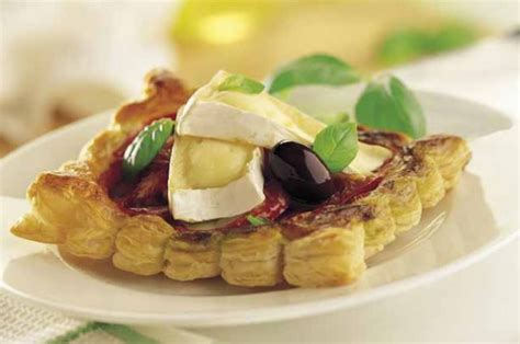 easy cheap canapes mini camembert galettes recipe goodtoknow