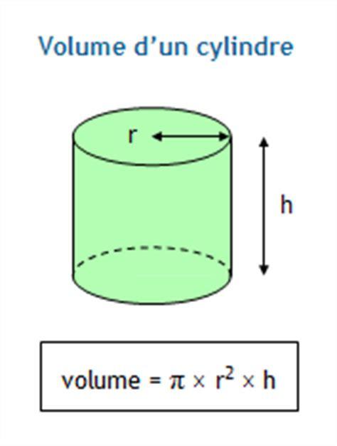 calculer le volume d un aquarium calculer le volume d un cylindre creux