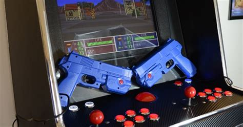 Dual Light Gun Arcade Machine Arcade Pinterest