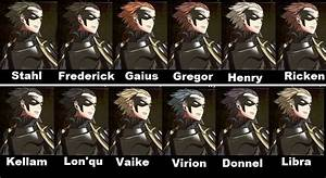 Image - Gerome Hair Collage.jpg | Fire Emblem Wiki ...