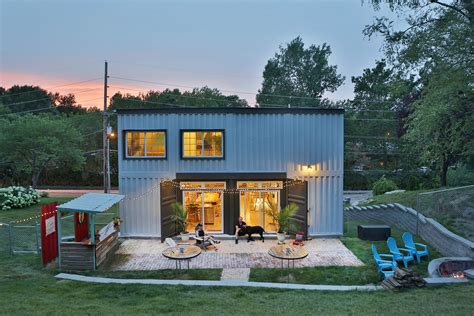 Shipping Container House Lets Its Owners Live Mortgage