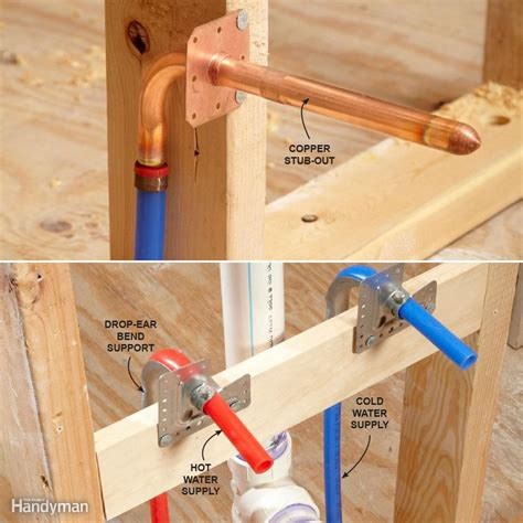 kitchen sink supply lines pex pex supply pipe everything you need to diy
