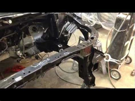 honda civic frame rail replacement youtube
