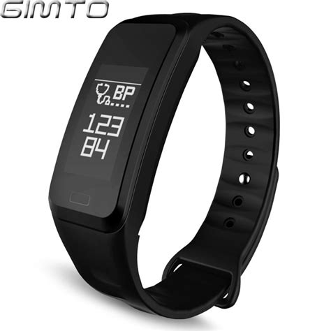 GIMTO Men Women Sport Smart Bracelet Watch Bluetooth Clock