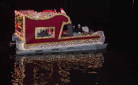 christmas lights boat parade floats boat parade boat