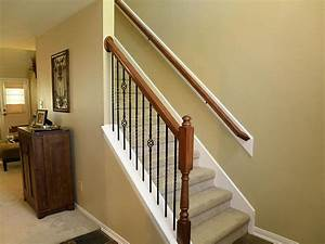 Smothery, Stair, Railing, Ideas, Along, With, Wooden, Stair, Railing, Ideas