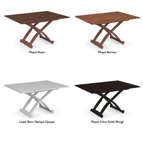 livraison de repas au bureau table basse relevable mascotte meubles et atmosphère