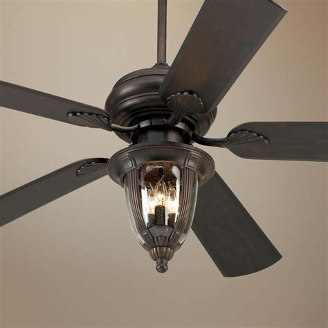 52 quot casa vieja tropical bronze light outdoor ceiling fan