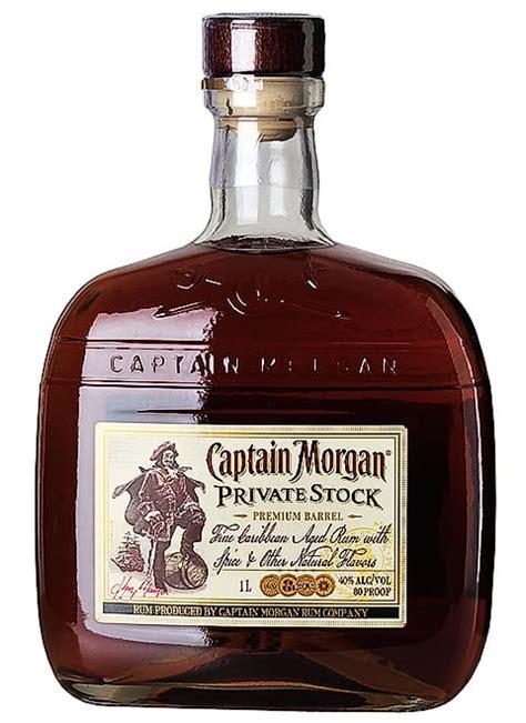 cava captain morgan private stock cl
