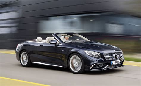 2017 Mercedesamg S65 Cabriolet Test  Review  Car And Driver