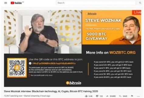 The founder of a bitcoin then made a website with a bitcoin.org domain and continued his collaboration with other developers on the bitcoin software until 2010. Steve Wozniak sues YouTube over Bitcoin giveaway scams ...